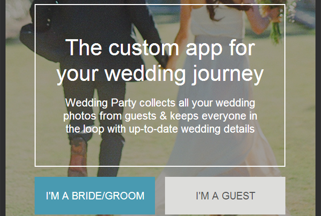 Wedding Party, l'app per il tuo matrimonio